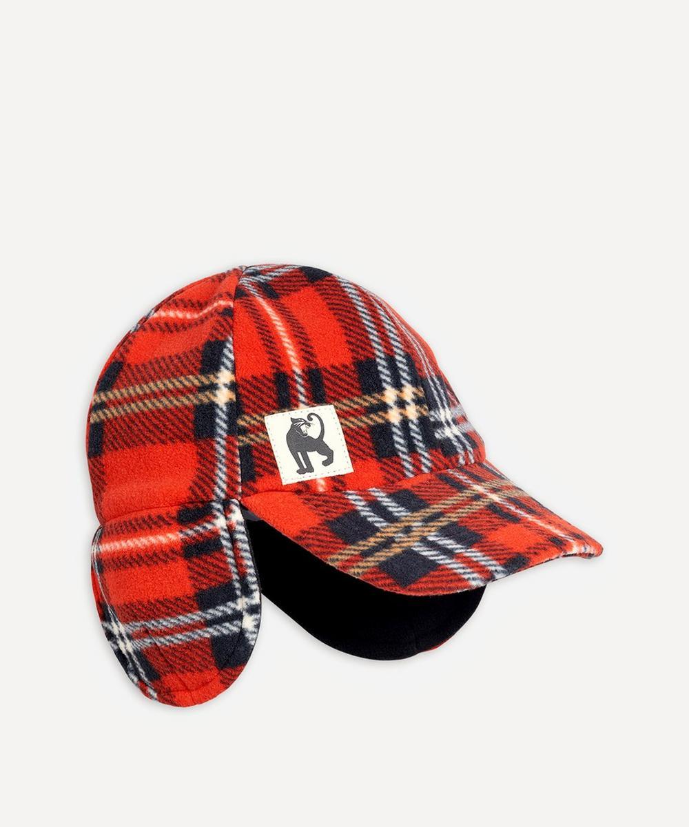 Fleece Check Cap 2-4 Years