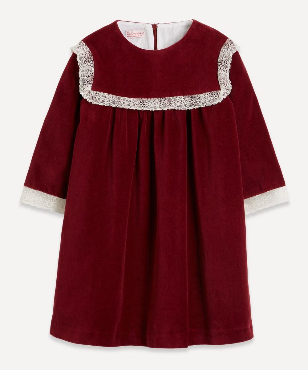 Ruby Velvet Dress 2-8 Years