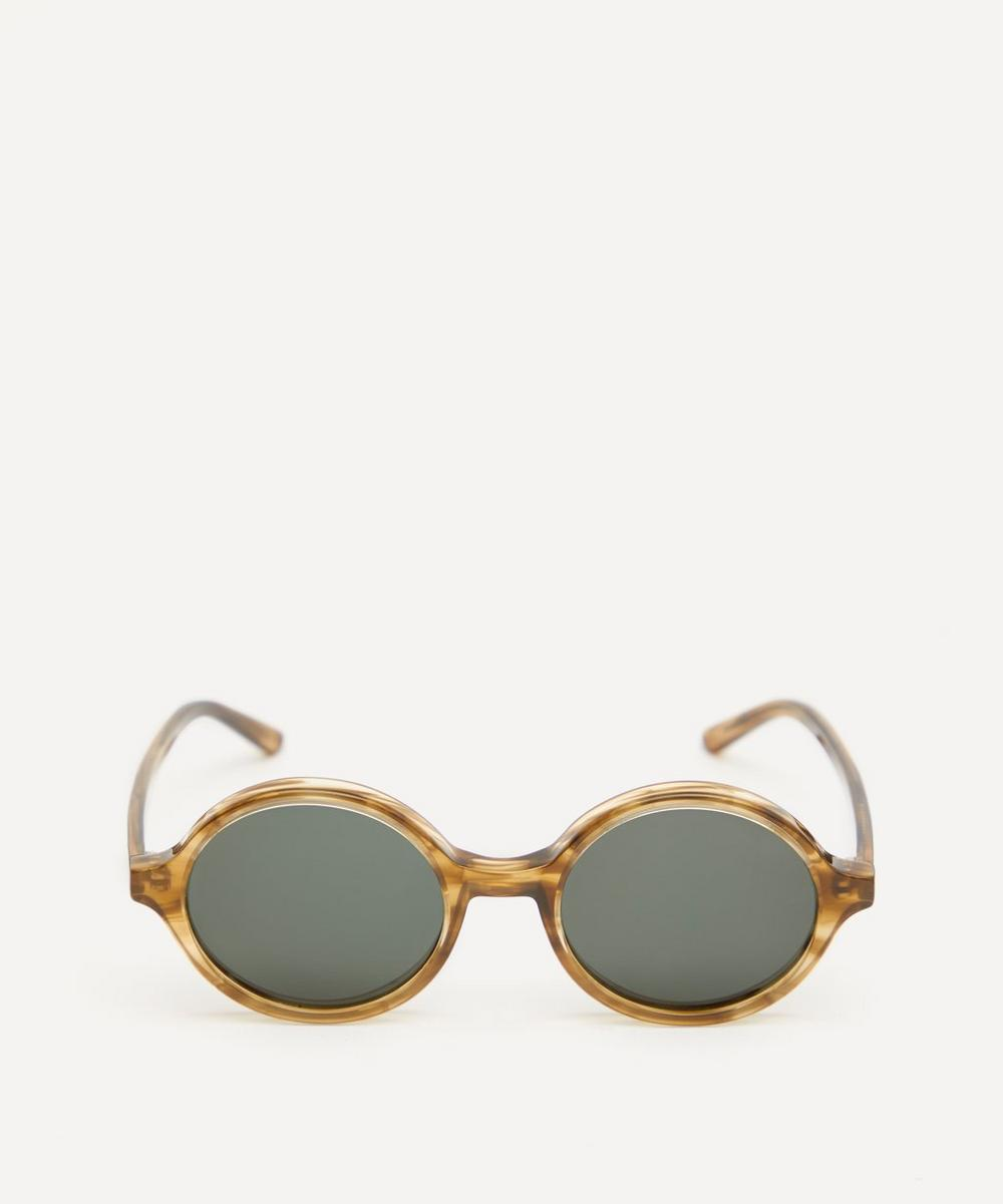 Doc Round Acetate Sunglasses