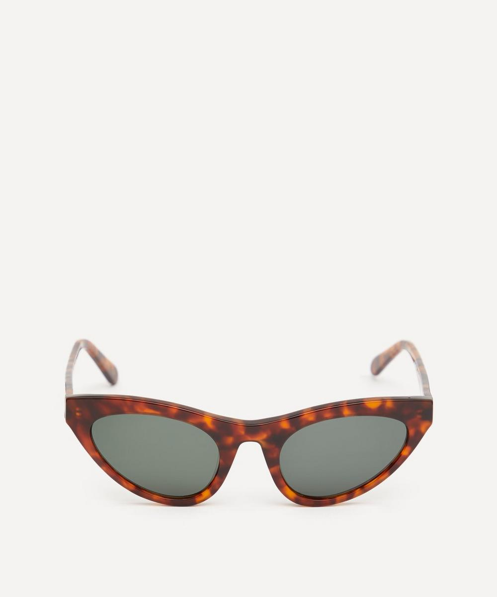 Race Cat-Eye Acetate Sunglasses