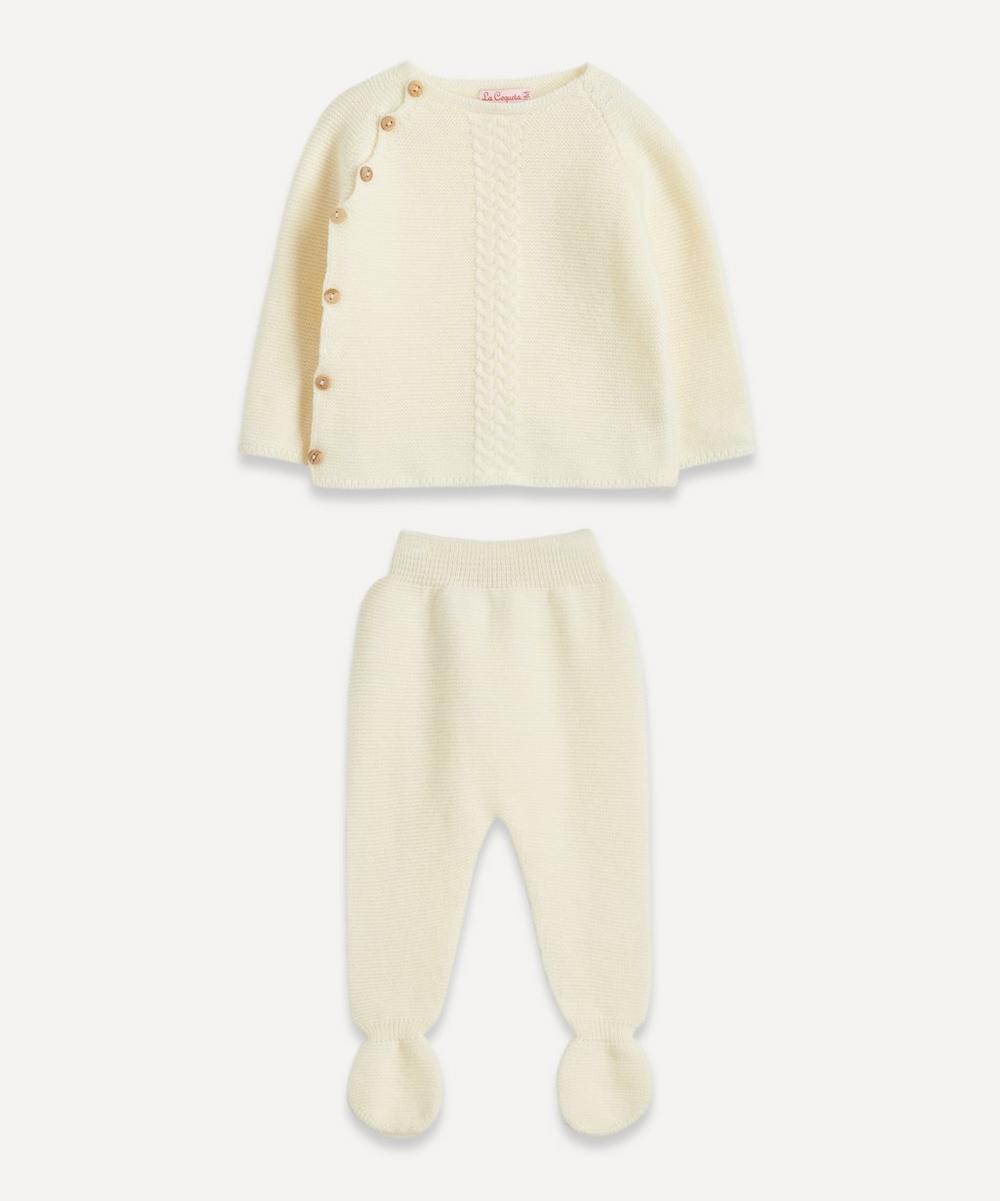 Santos Knitted Set 0-24 Months