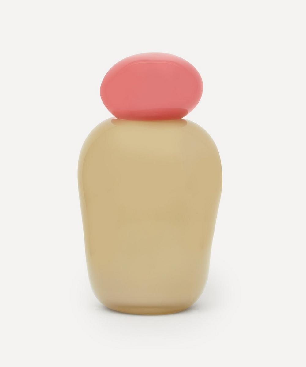 Pink/Champagne Bon Bon Medi Vase