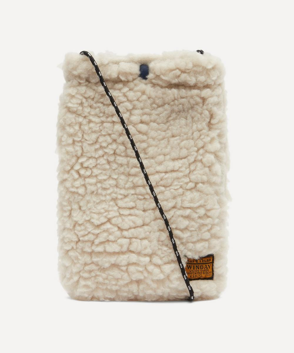 Boa Fleece Cross Body Bag