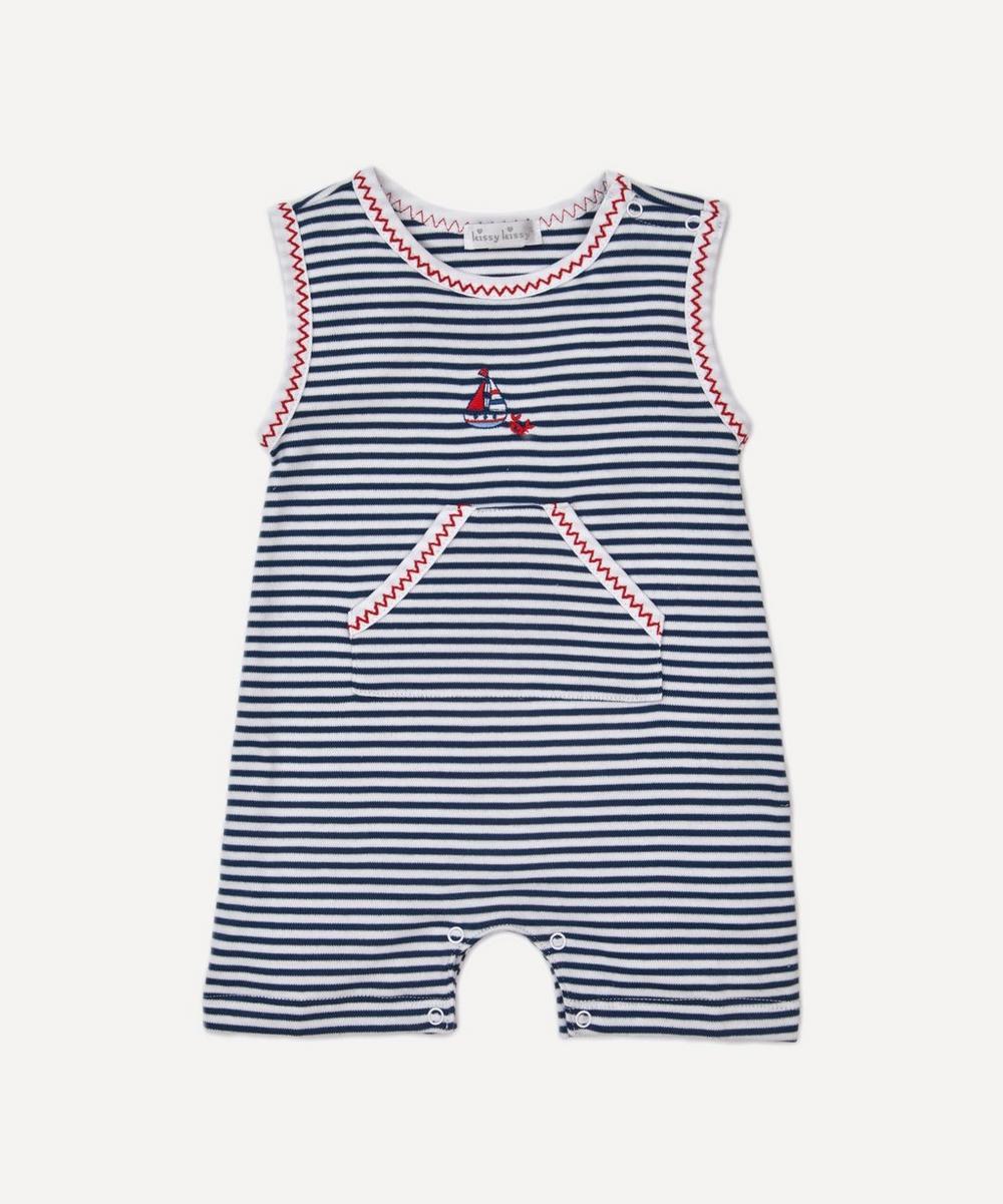 Summer Seas Stripe Playsuit 0-18 Months