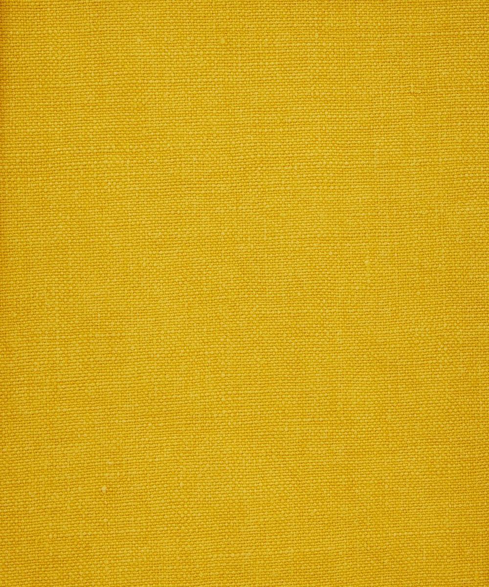 Mustard Plain Emberton Linen