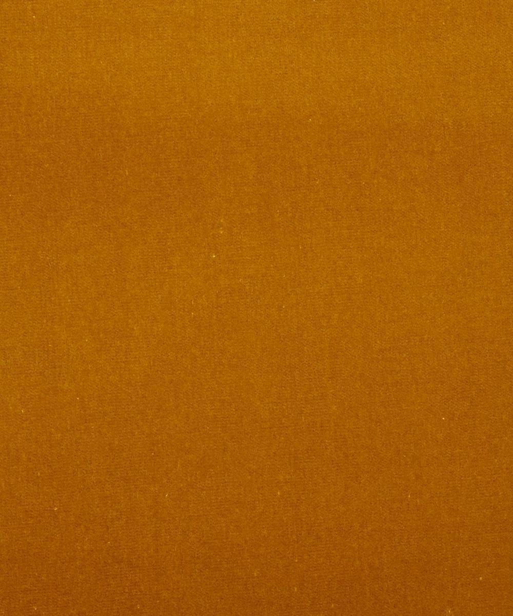 Fennel Plain Cotton Velvet