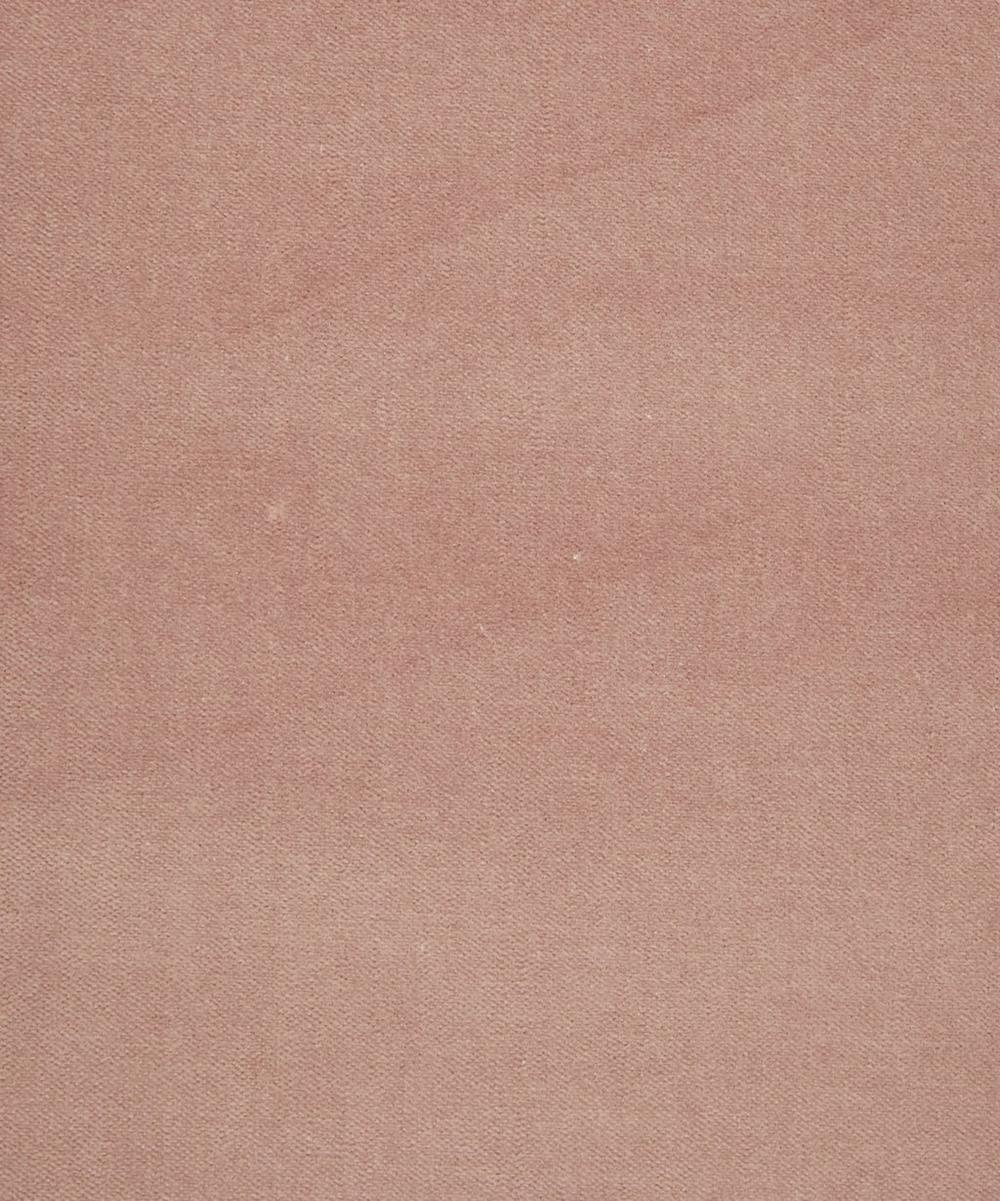 Slipper Plain Cotton Velvet