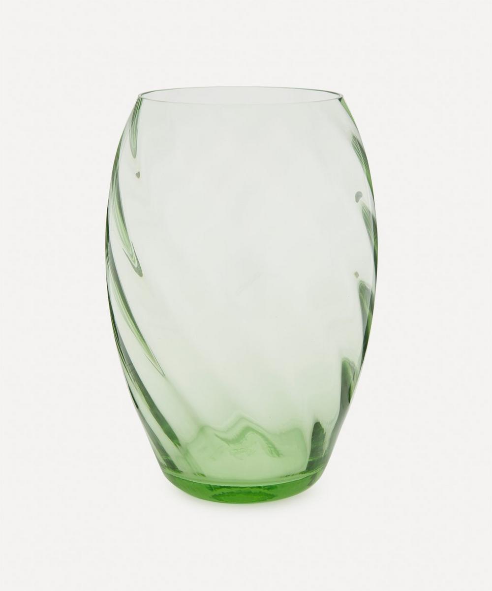 Tall Swirl Vase