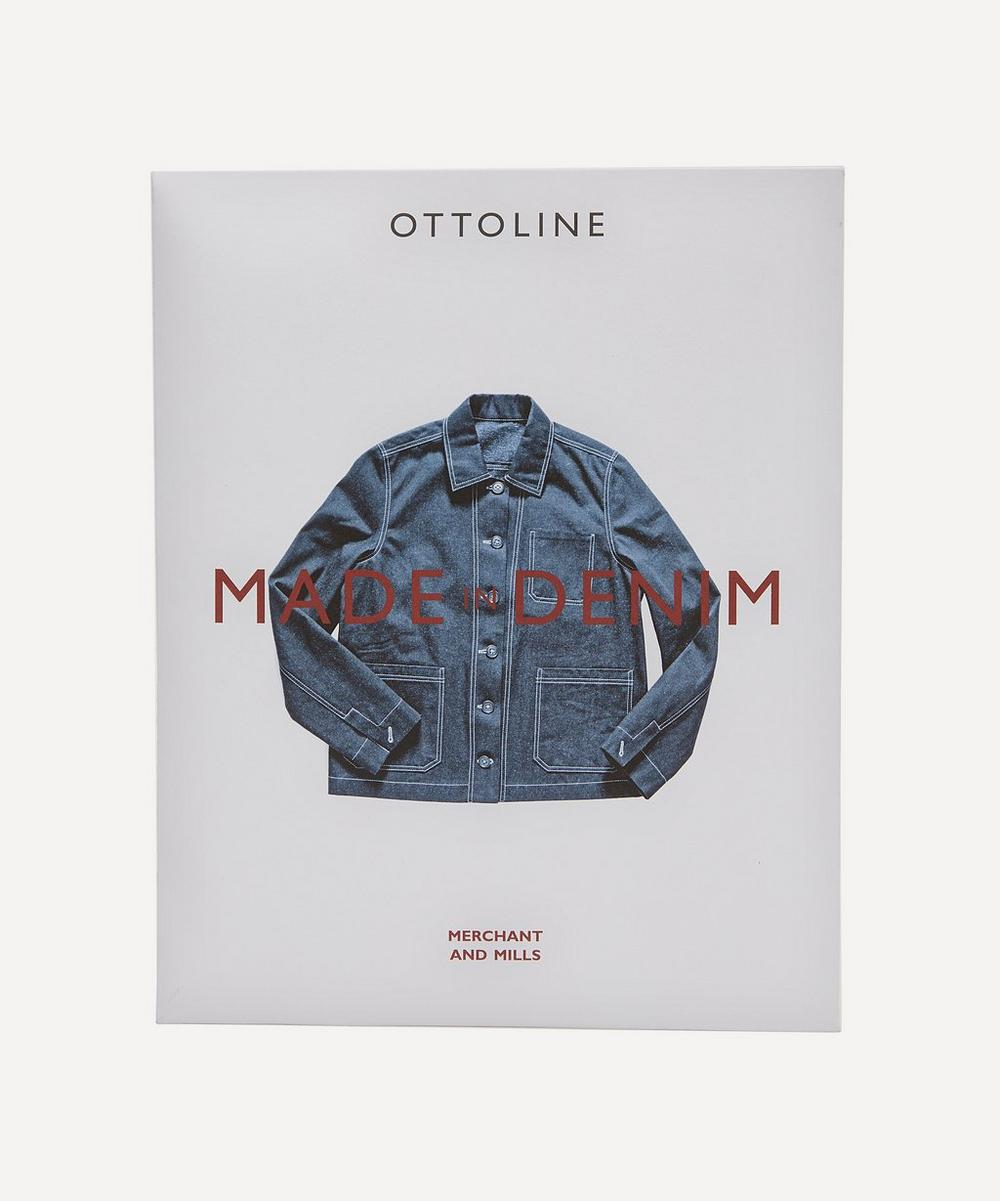 The Ottoline Denim Jacket Sewing Pattern