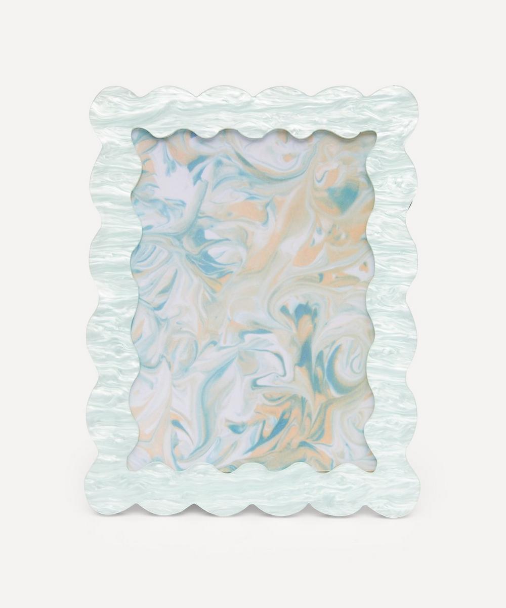 Acrylic Mint Photo Frame