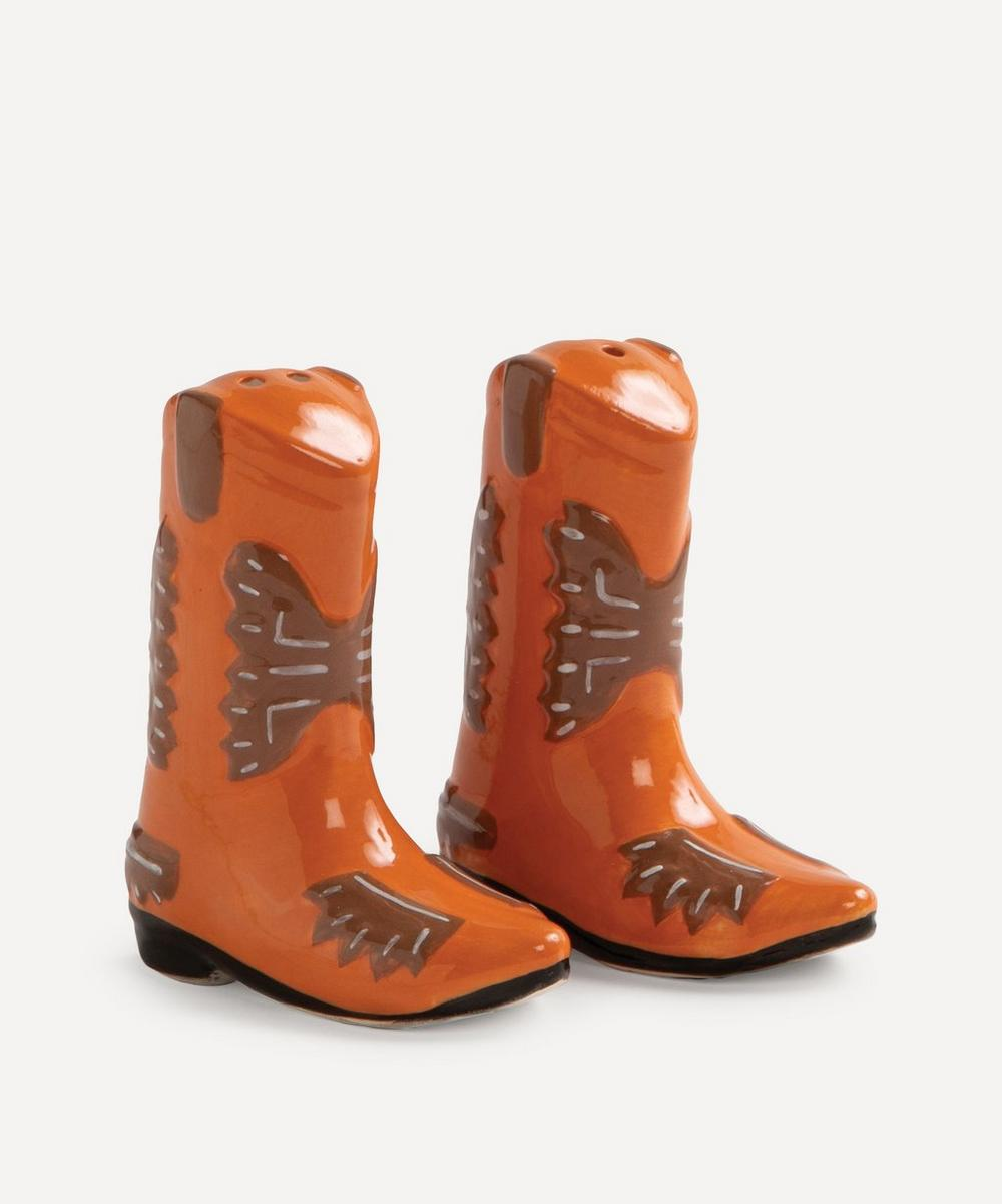 Boot Salt and Pepper Shakers