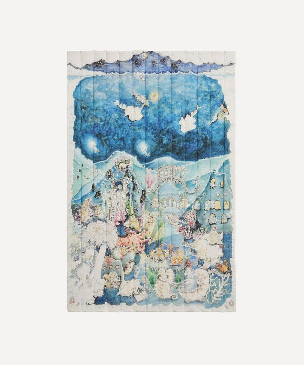 Legends of the Sea Quilted Cot Blanket