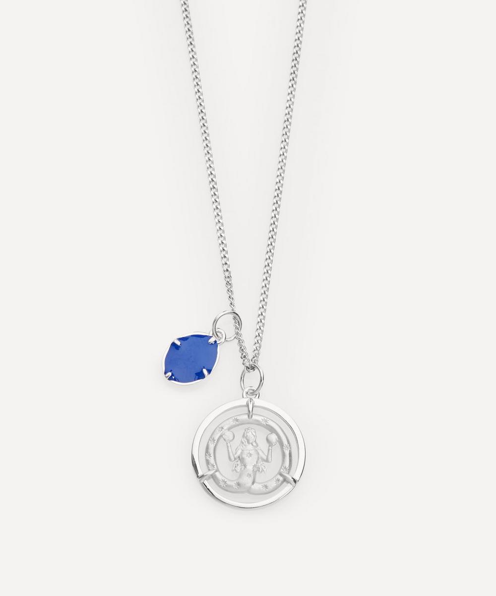 Sterling Silver Eternita Pendant Necklace