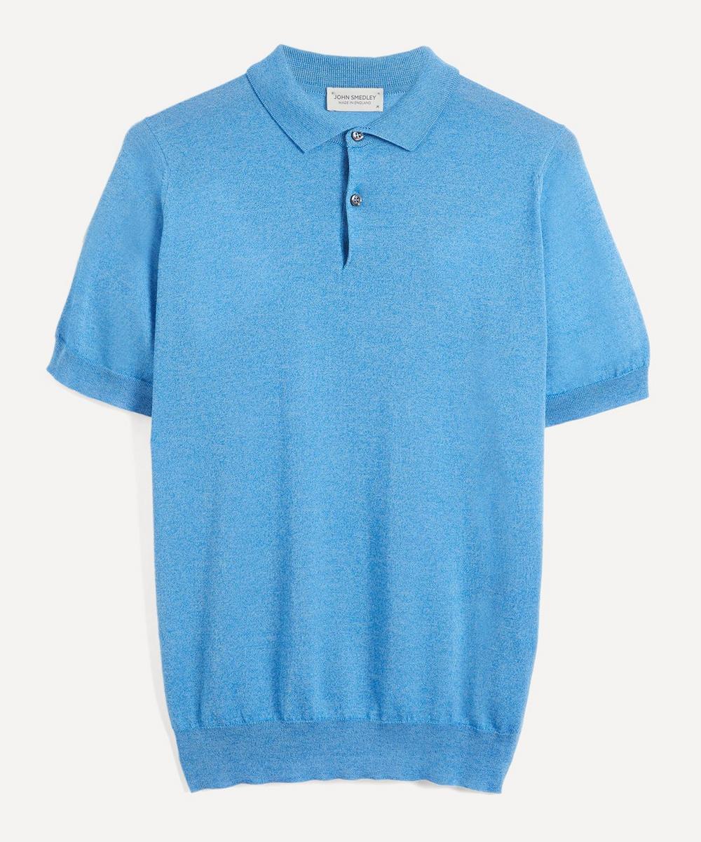Payton Merino Wool and Sea Island Cotton Polo-Shirt