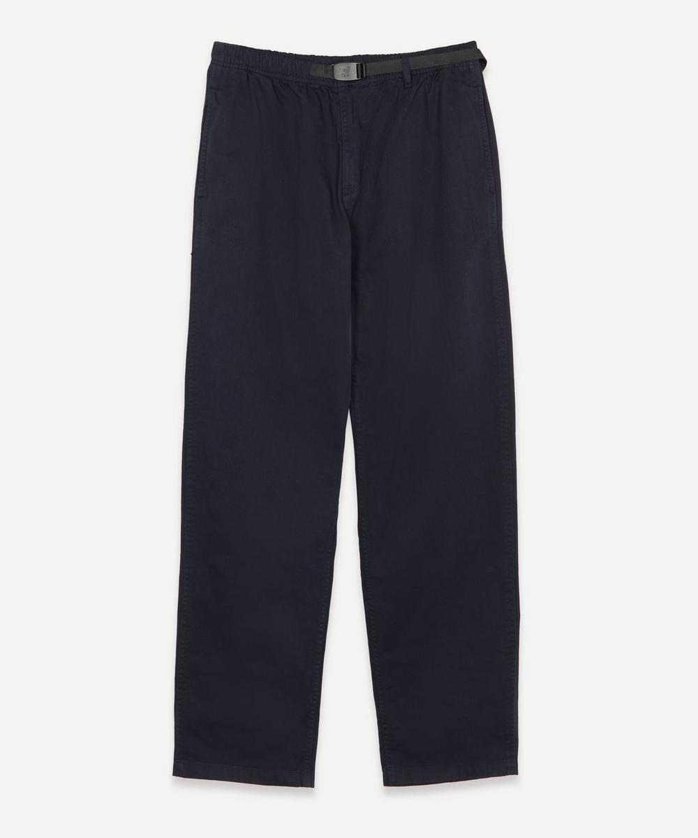Belted Cotton Trousers