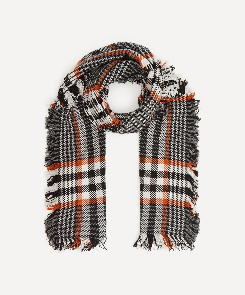 Heritage Check Merino Wool Scarf