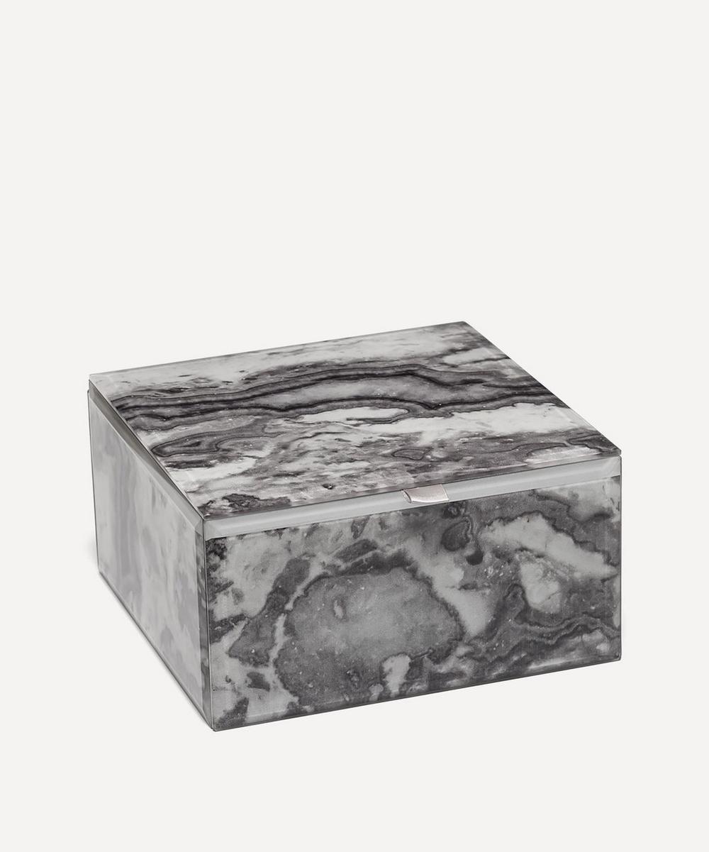 Picasso Jasper Large Square Treasure Box