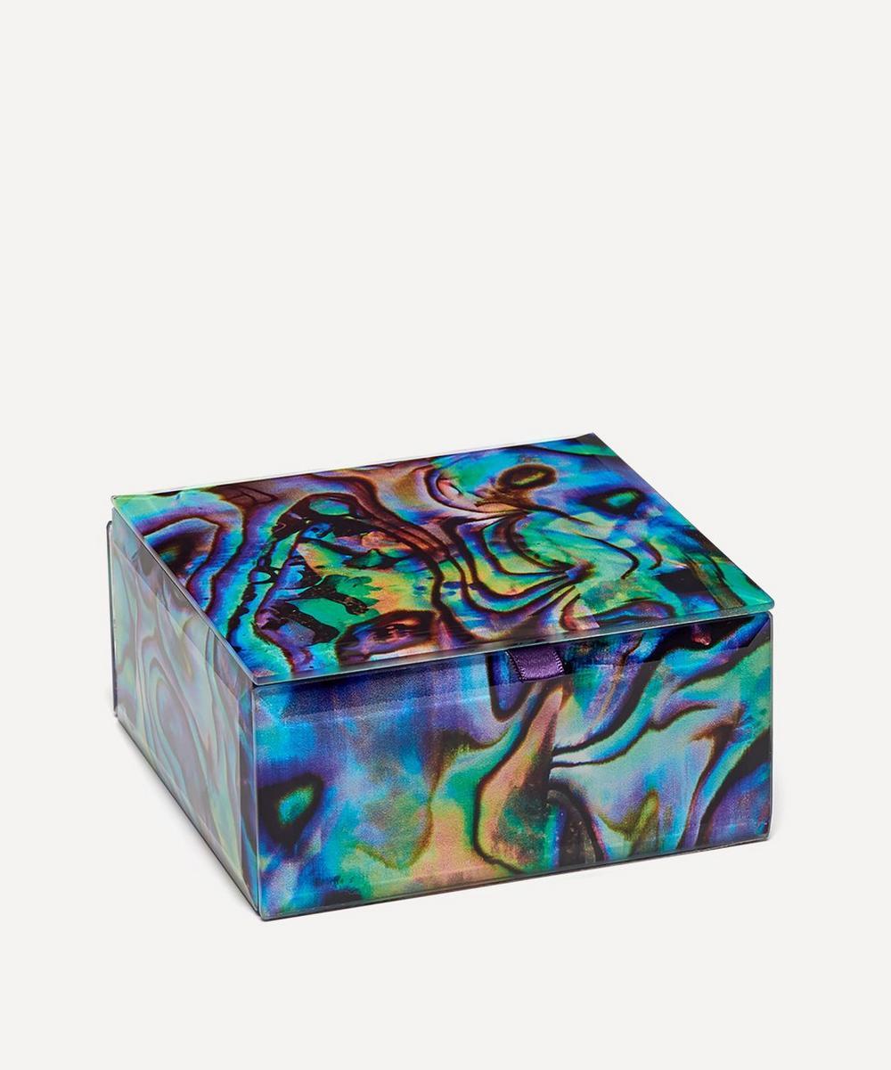Abalone Small Square Treasure Box