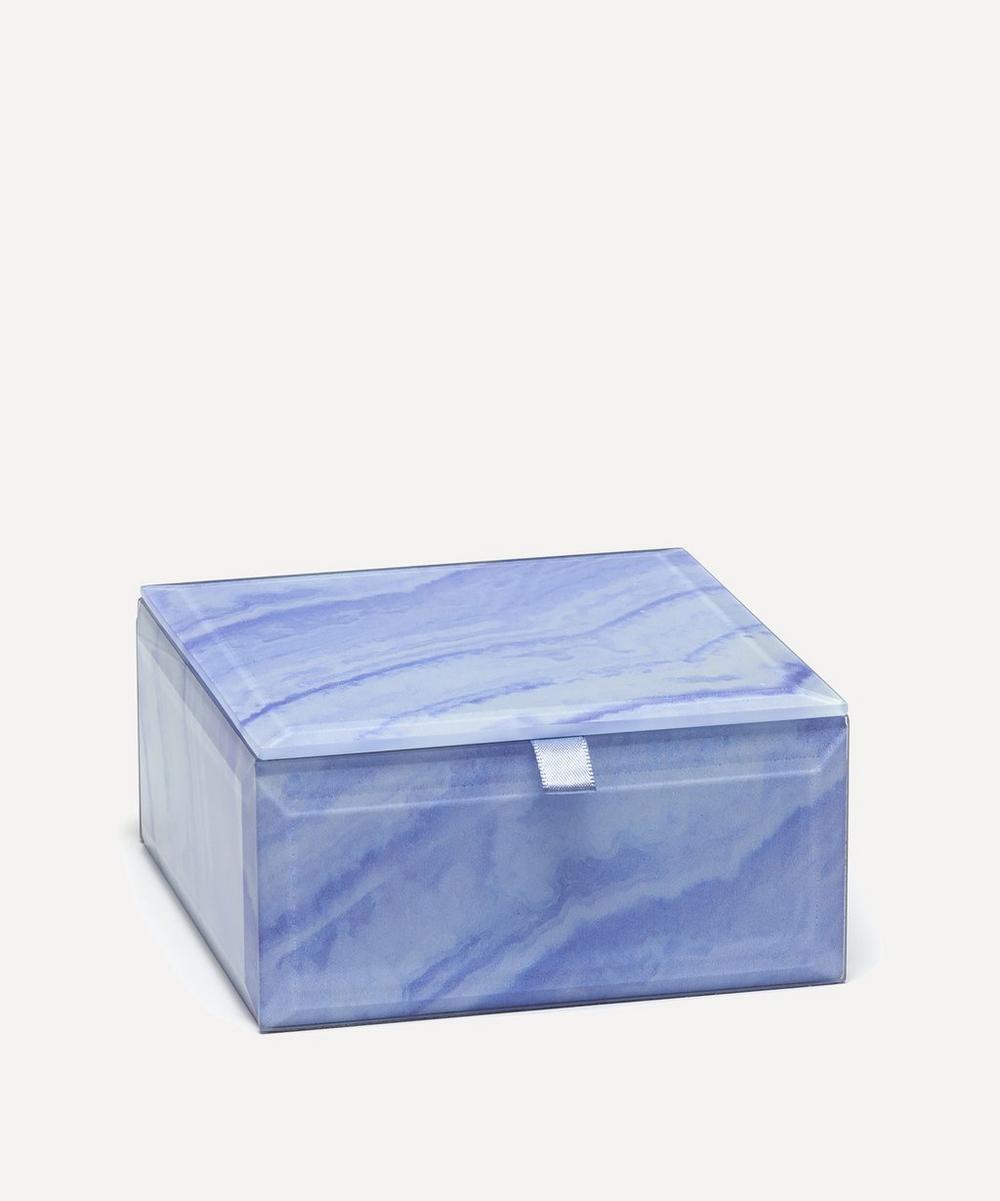 Lace Agate Small Square Treasure Box