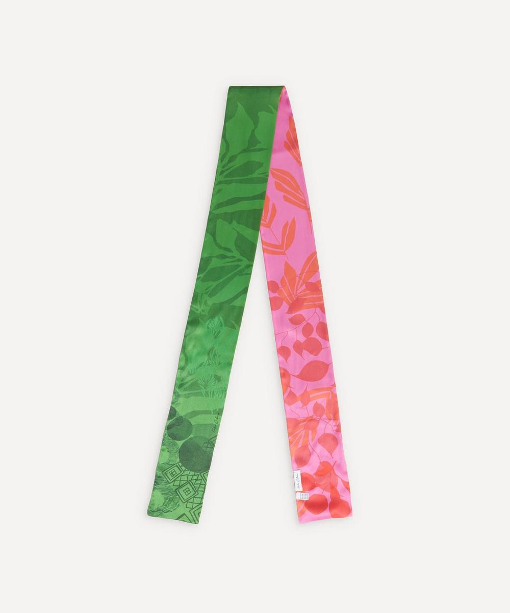 Honor Bi-Colour Silk Scarf