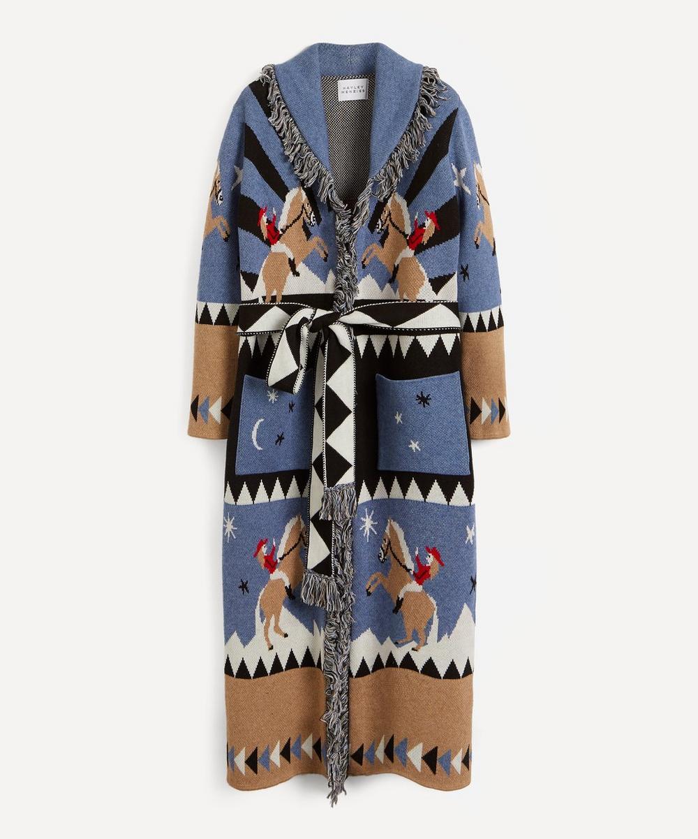 Rodeo Merino Wool-Cotton Duster Jacket