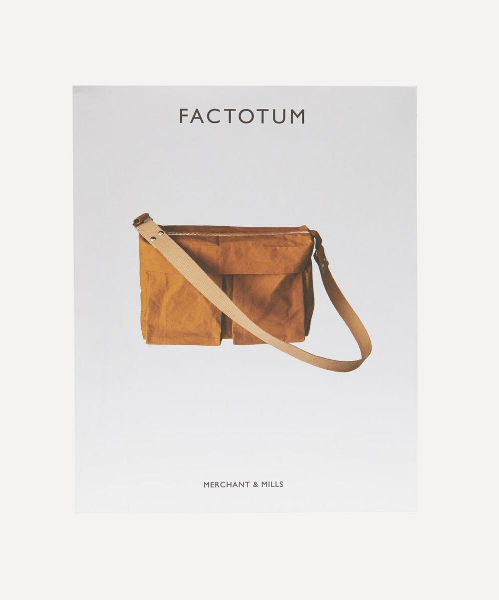 The Factotum Bag Sewing Pattern