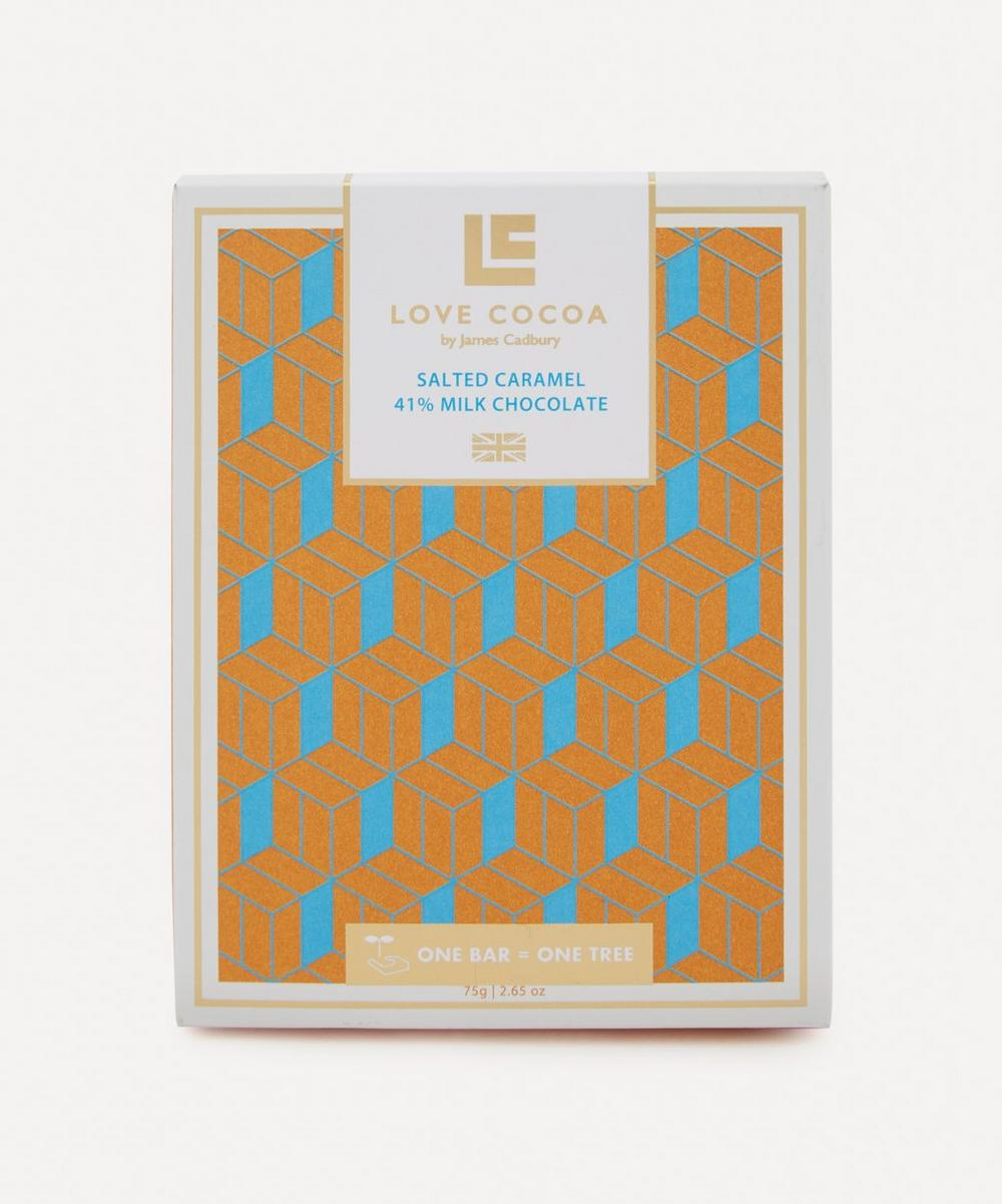 Salted Caramel Milk Chocolate Bar 75g