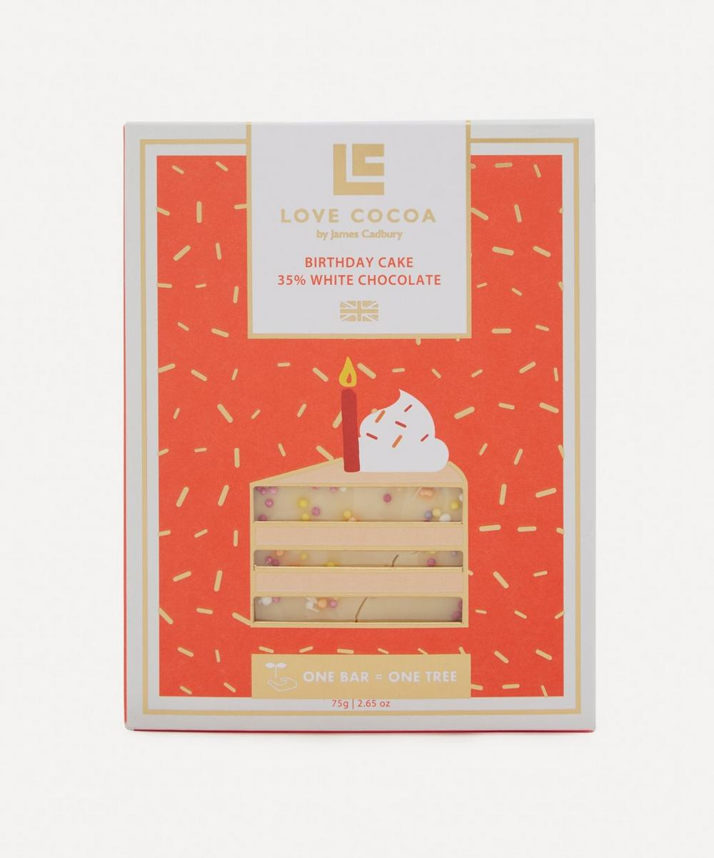 Birthday Cake White Chocolate Bar 75g