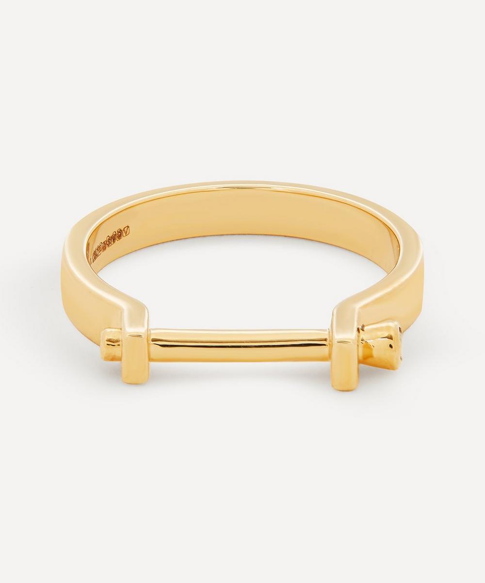 Gold Ind'stria 3mm Diamond Ring