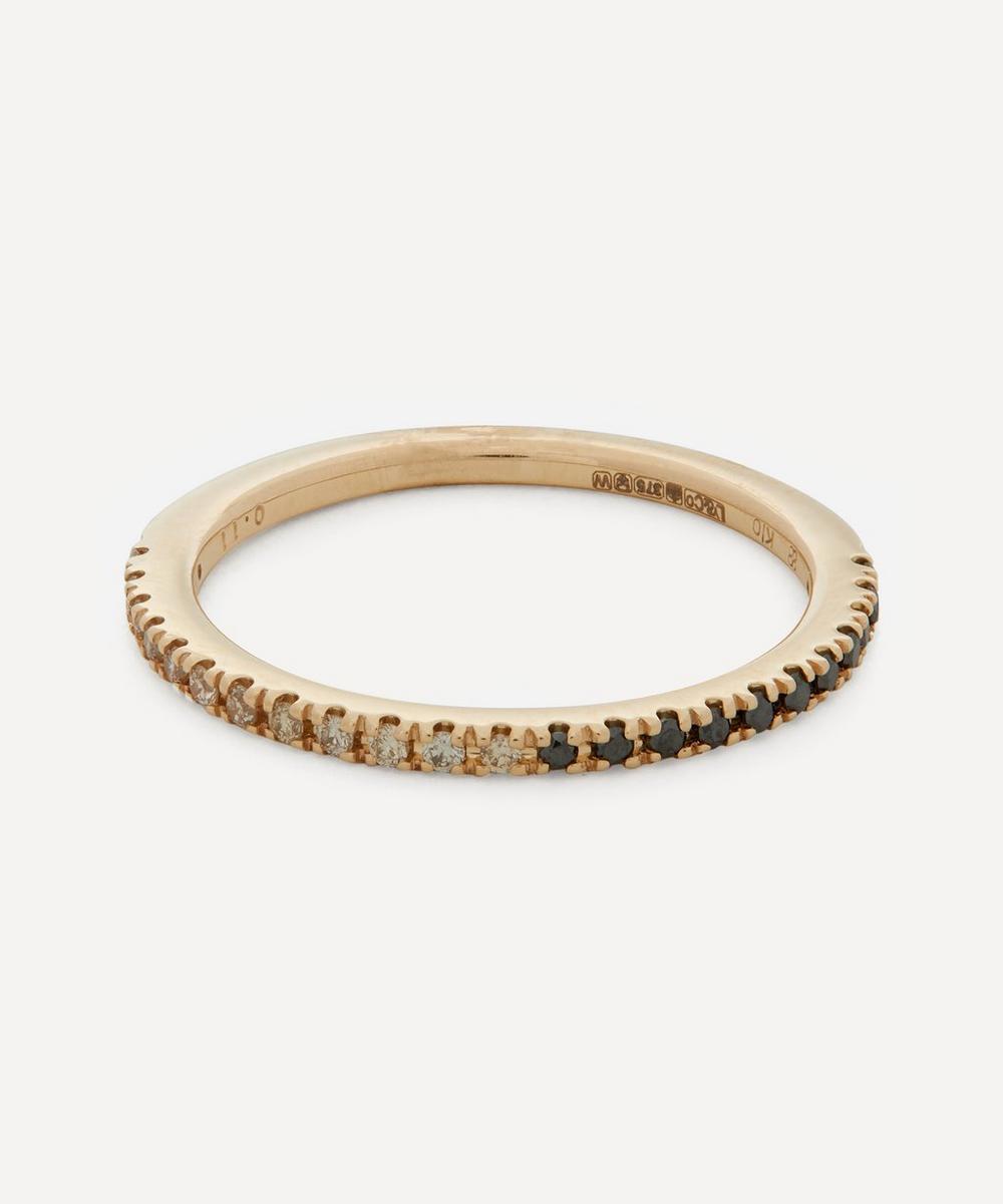 Gold Gossamer Diamond Ring