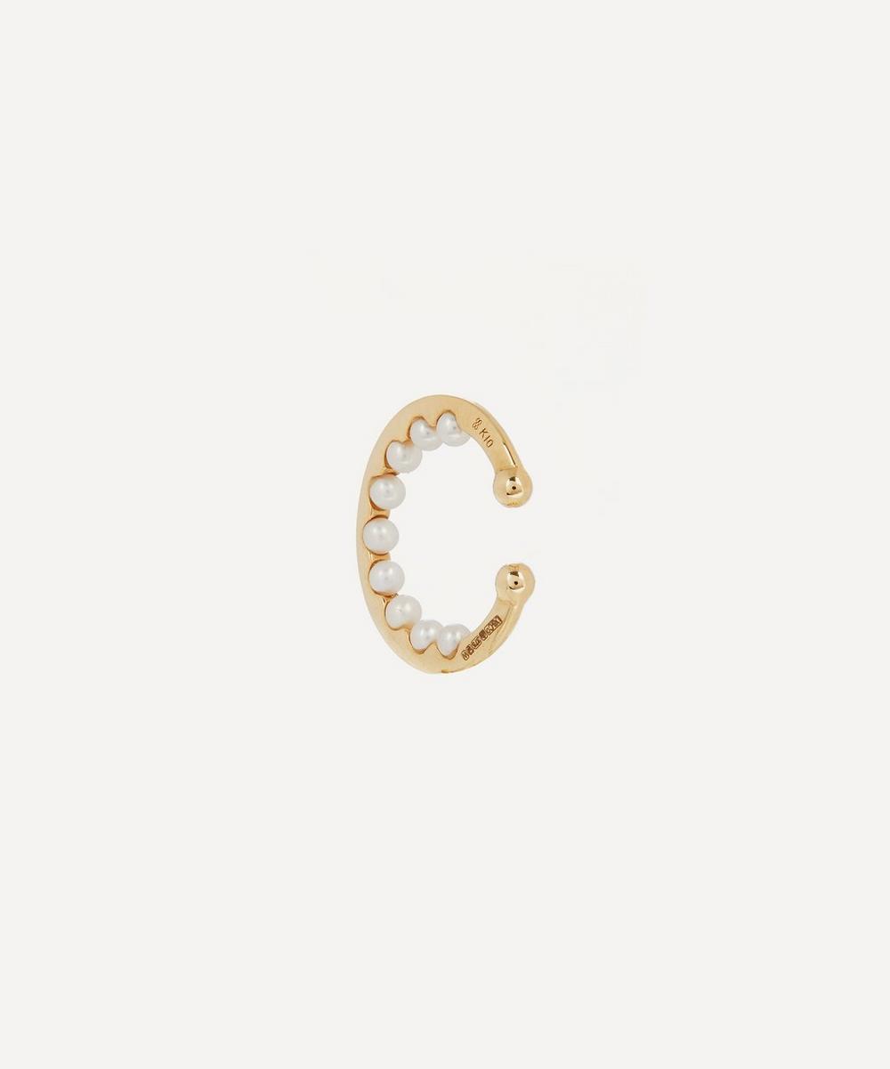 Gold Baby Pearl Ear Cuff