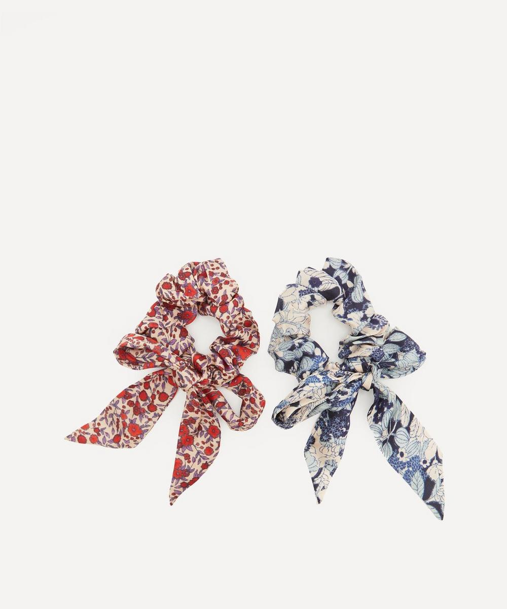 Lotus Satin Scrunchies Pack of Two