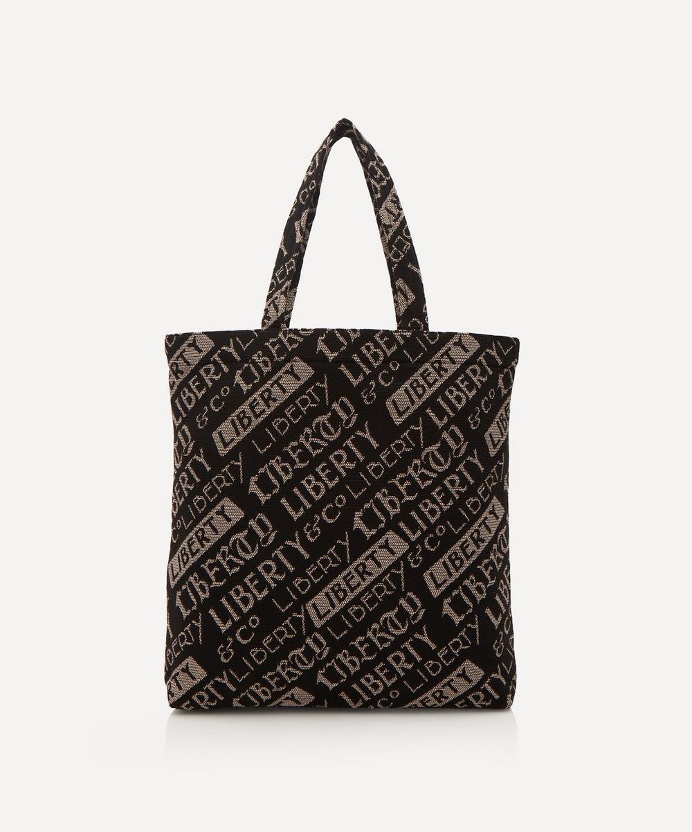 Jacquard Liberty Logo Tote Bag
