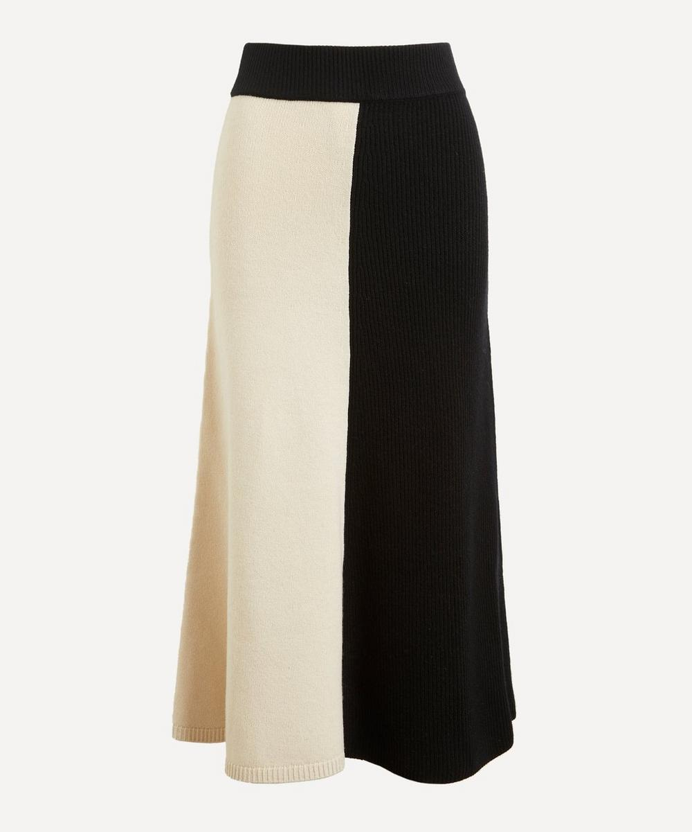 Soft Wool Midi-Skirt