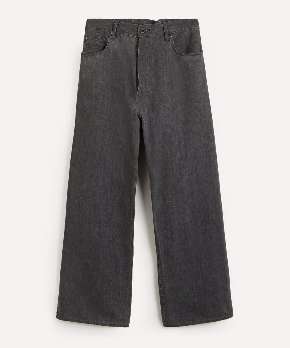 Crossed Denim Jeans