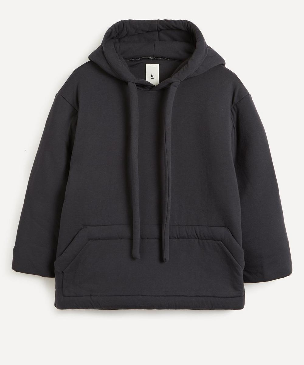 Padded Cotton Hoodie