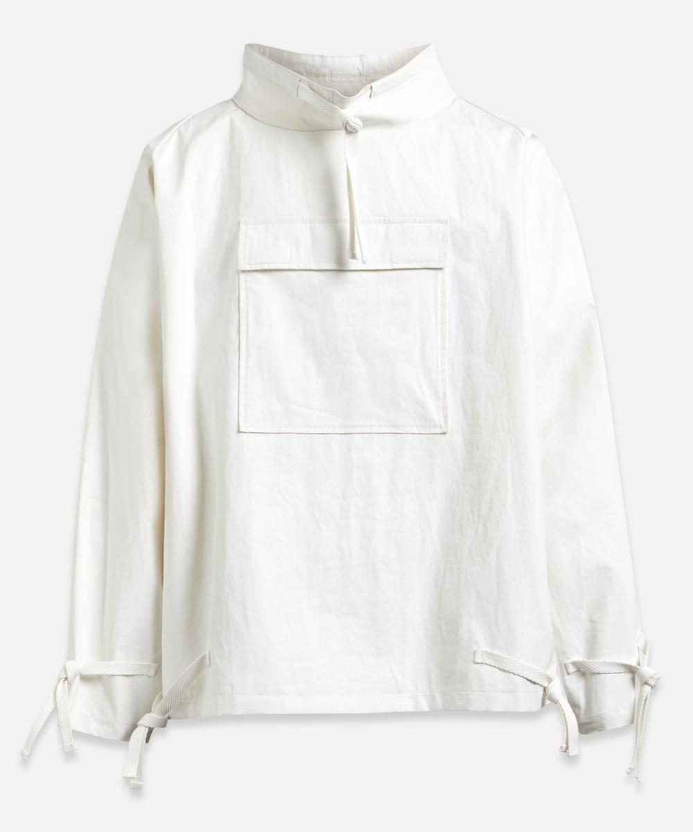 Tech Fabric Pullover Jacket