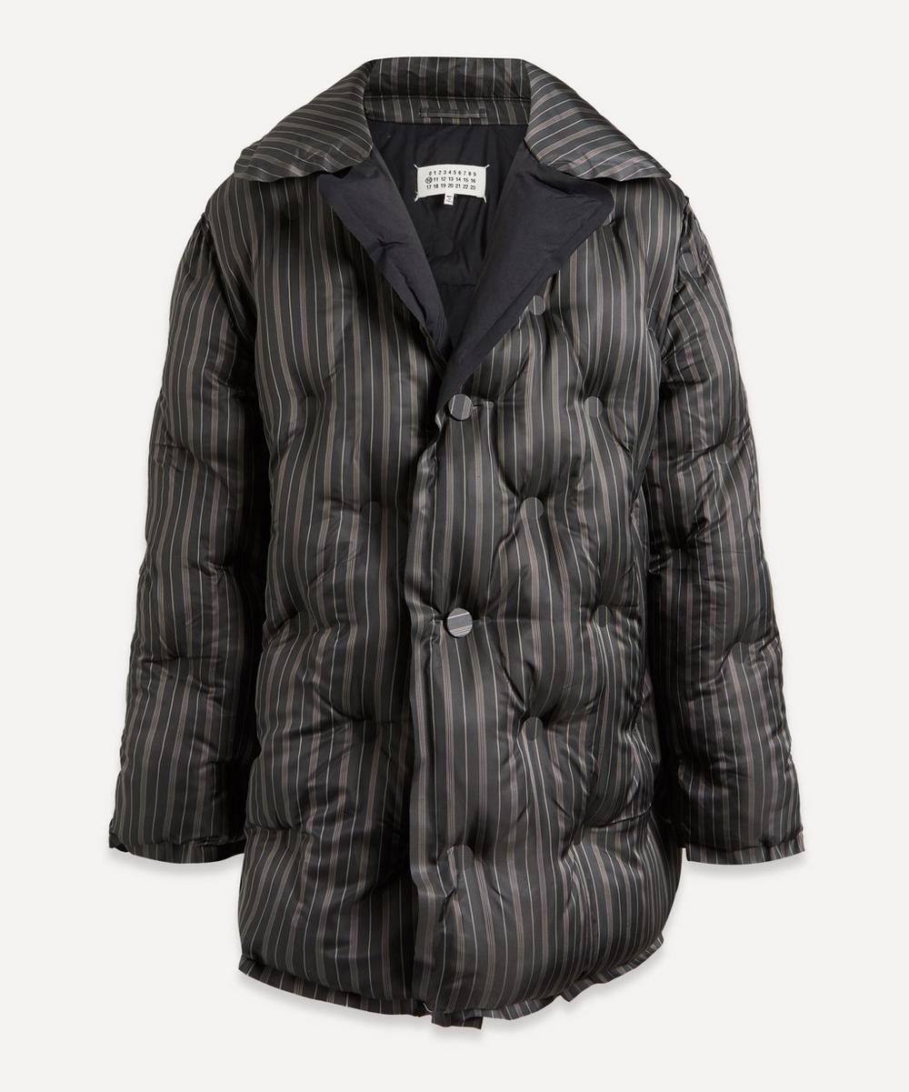 Striped Puffer Jacket