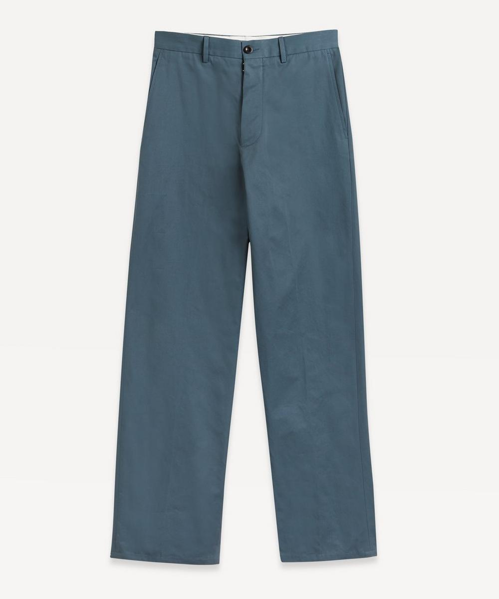 Slim Cotton Trousers