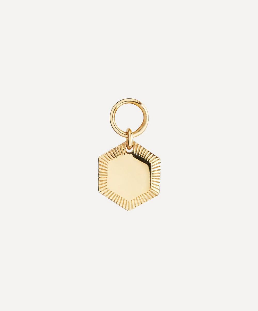 Gold-Plated Kim Charm