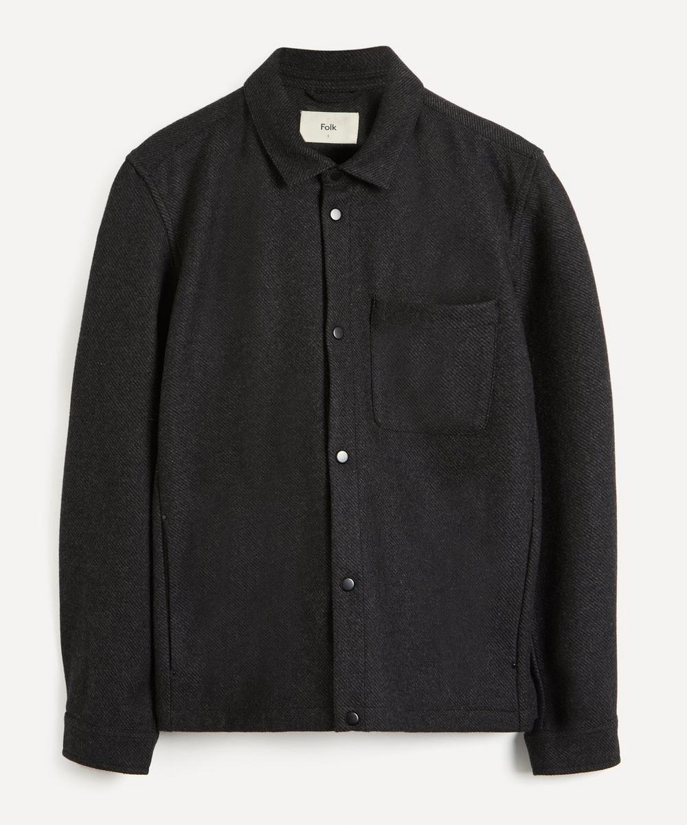 Orb Wool-Blend Twill Jacket