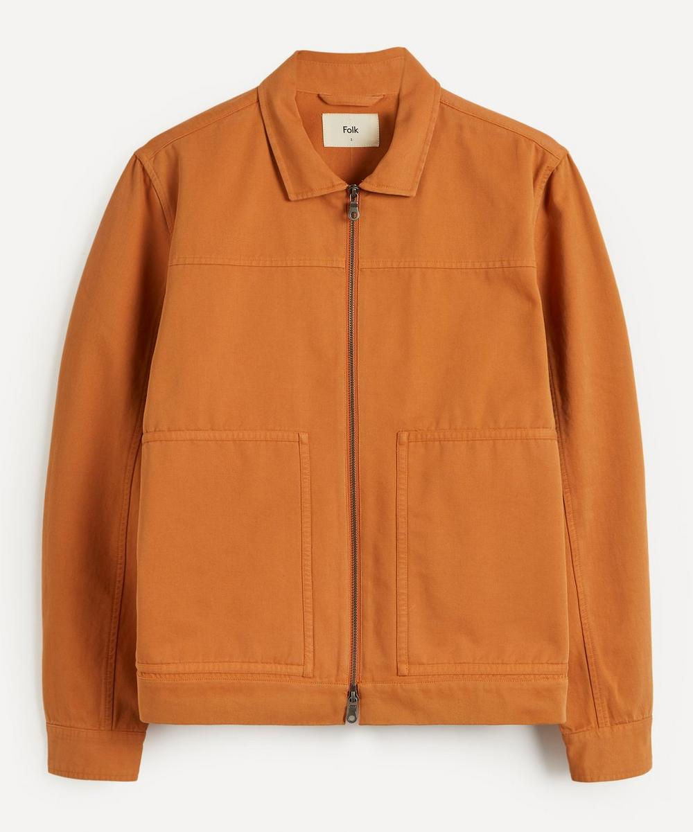 Raft Zip-Up Light Cotton Jacket