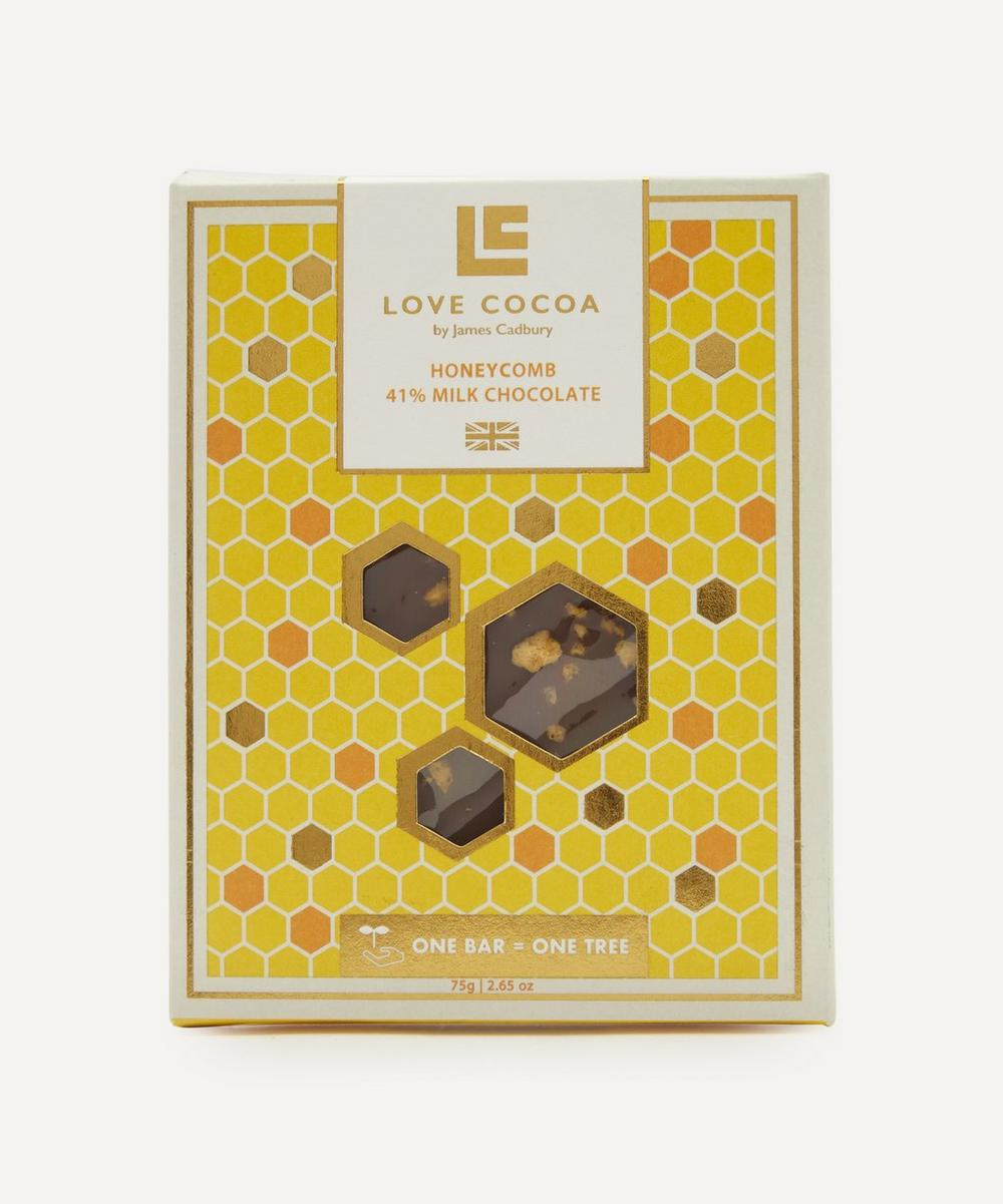 Honeycomb 41% Milk Chocolate Bar 75g