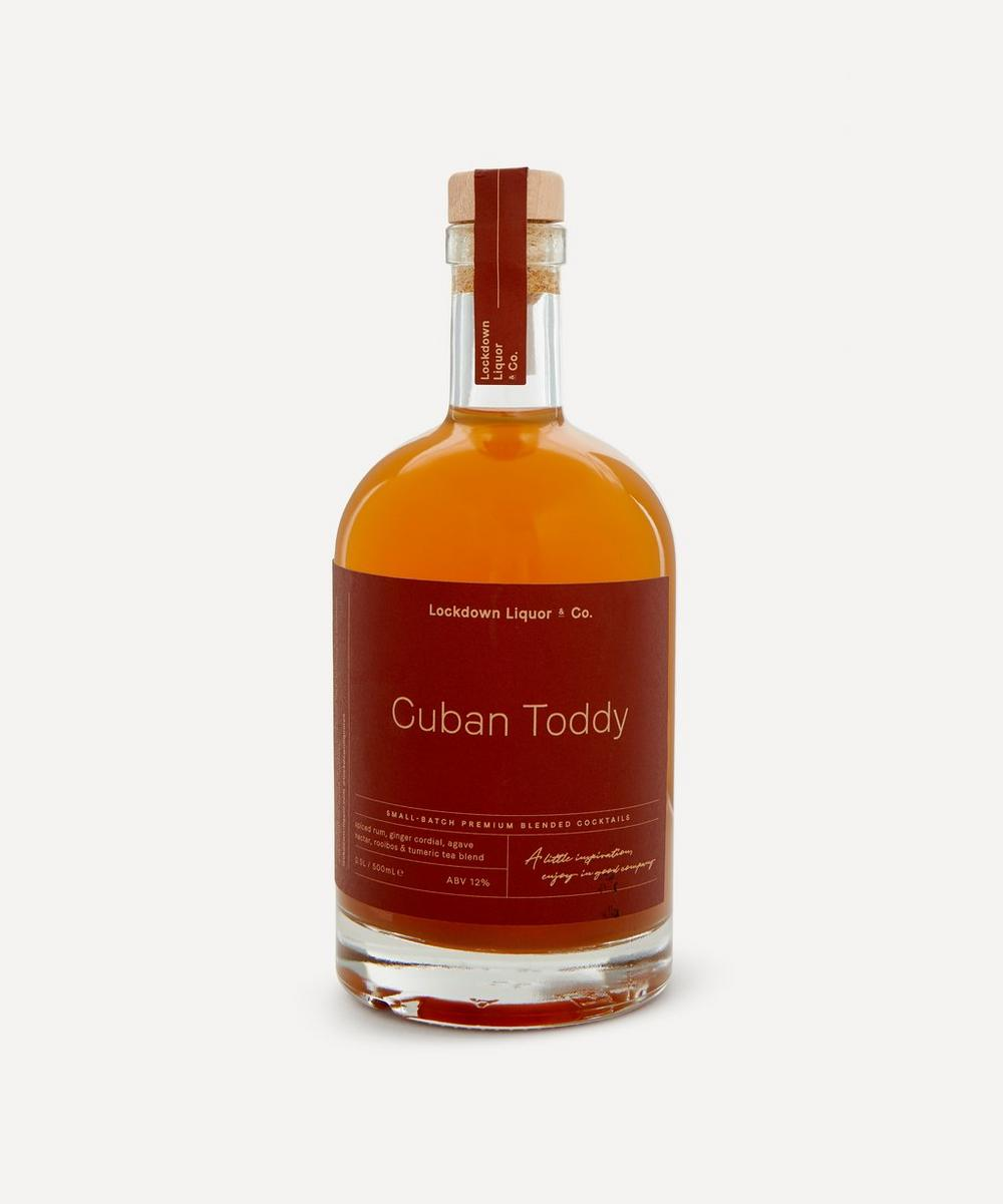 Cuban Toddy Pre-Mixed Cocktail 500ml