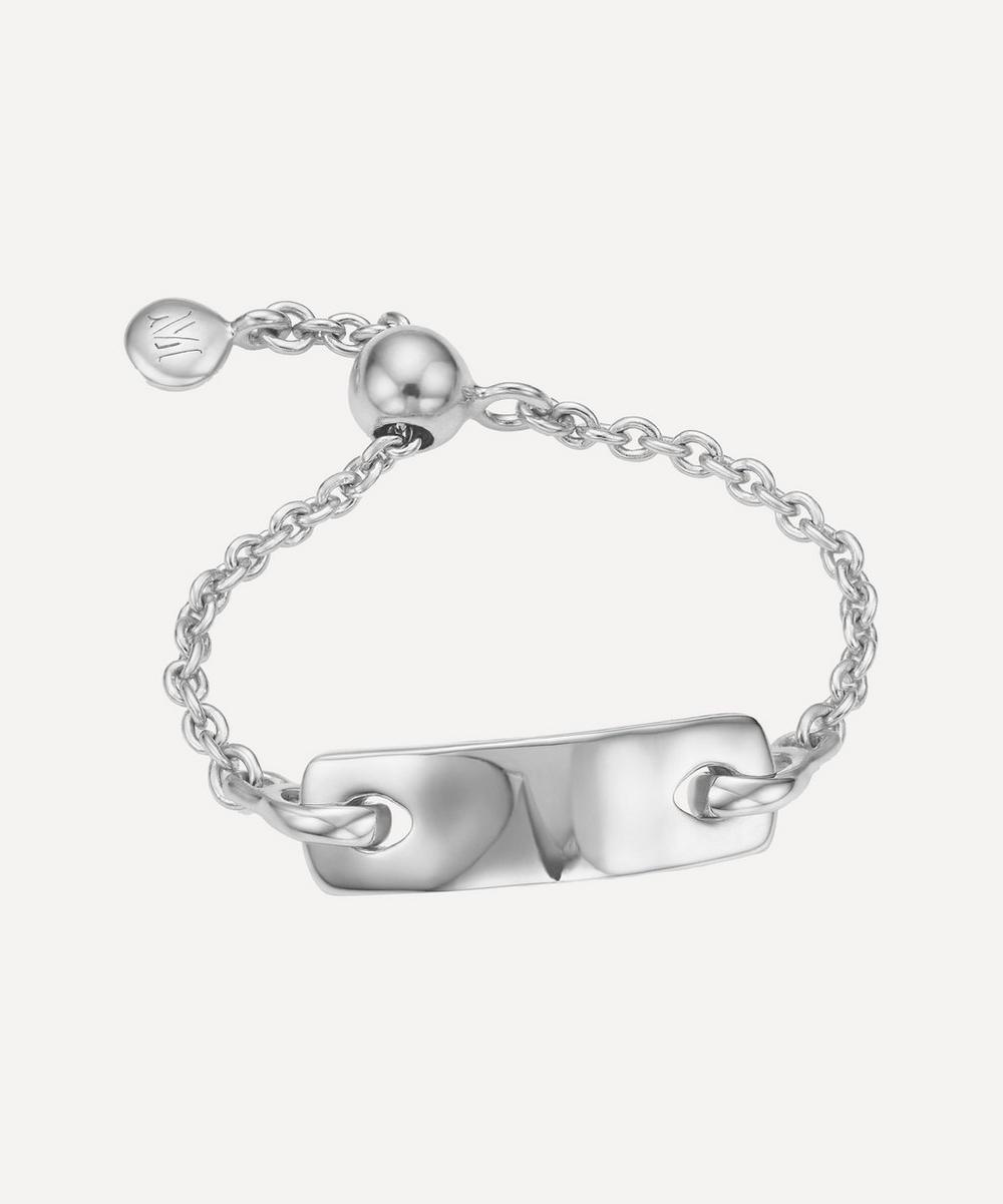 Silver Havana Friendship Ring