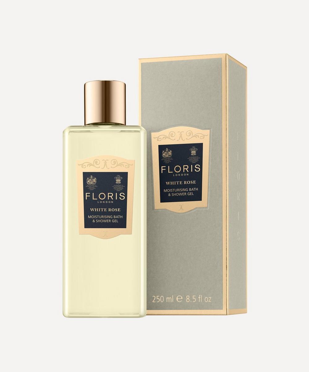 White Rose Moisturising Bath & Shower Gel 250ml