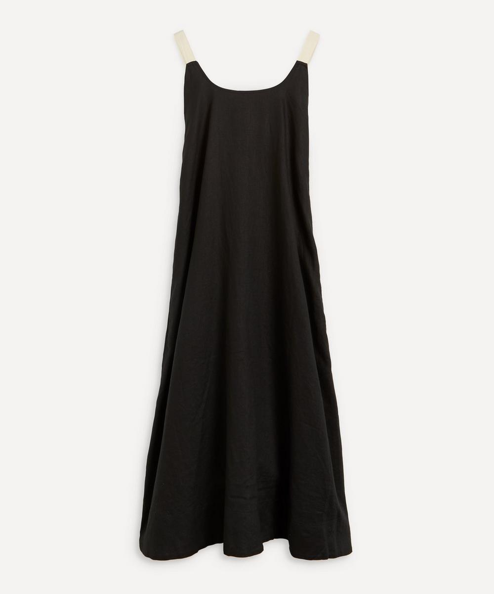 Minimal Linen Dress