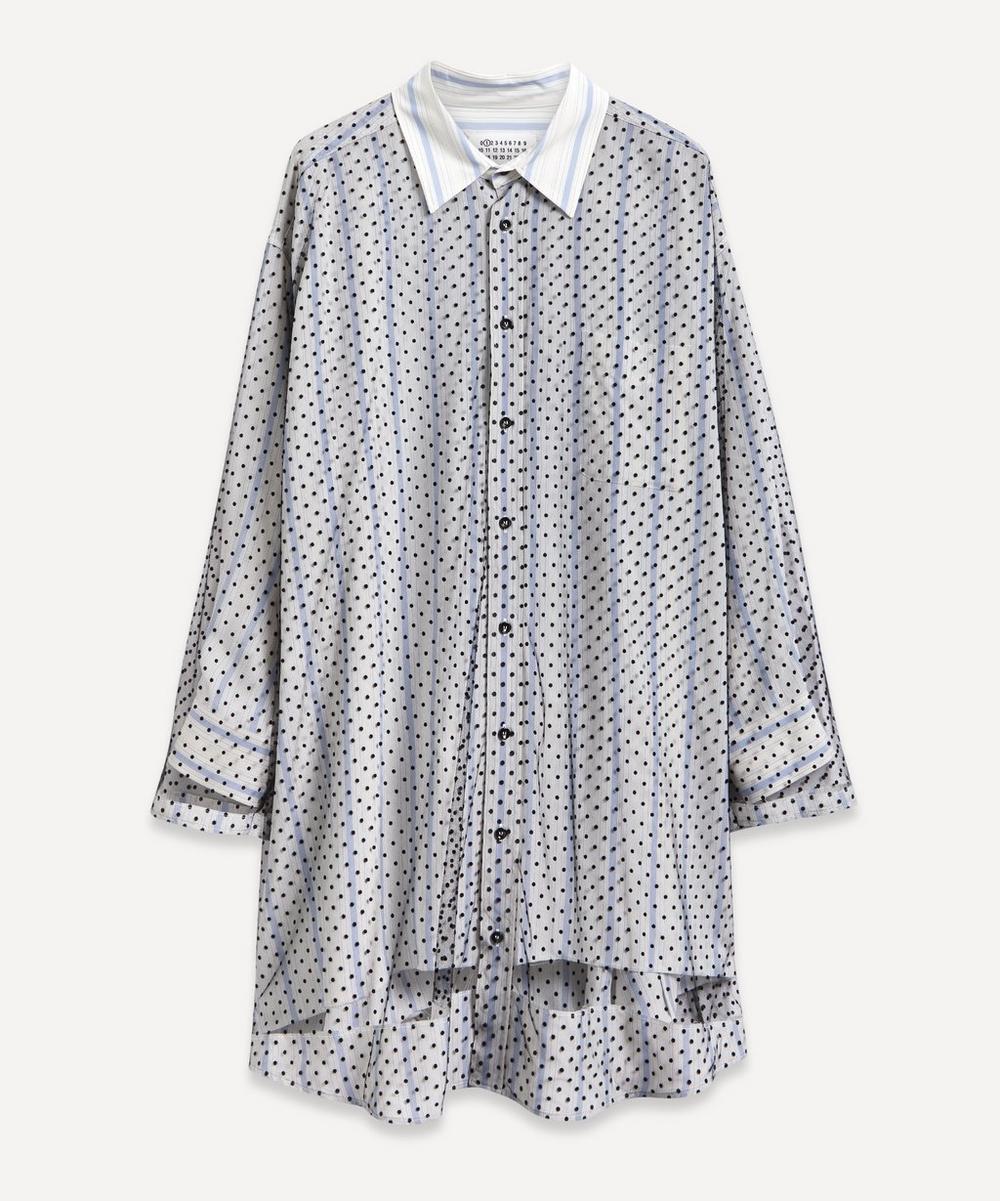 Decortique Point D'Esprit Shirt Dress