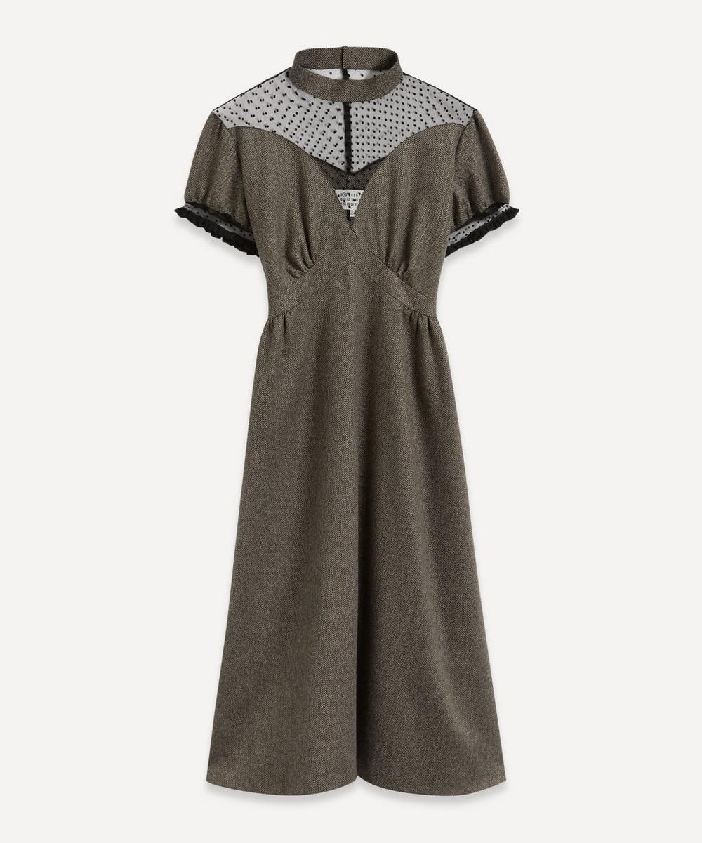 Chevron Evening Dress