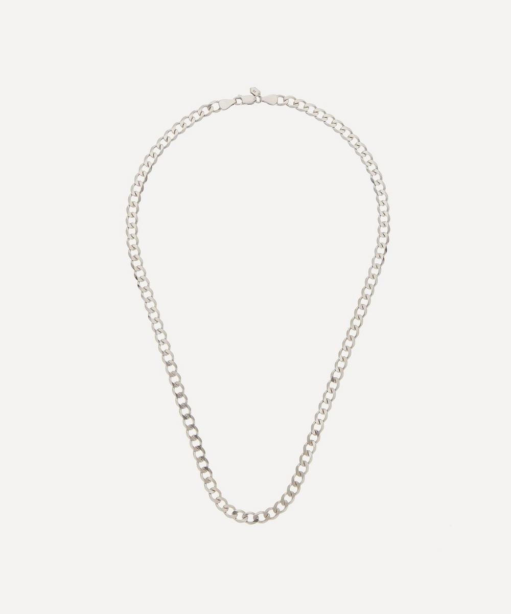 Rhodium-Plated Sterling Silver Forza Necklace